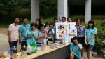 천안 북일고 학생들이 아프리카 아이들의 안과 수술을 위해 100만 원을 기부했다.