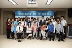 기부에 참여한 삼성화재RC와 선정가정 기념사진