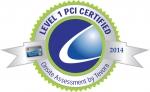 PCI DSS 레벨1 컴플라이언스 인증 로고, 정보보호 전문 컨설팅 기관 Tevora 발행