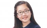 심장병 어린이들을 위해 스스로 모금활동을 한 김지민(오마초등학교 5학년)양이다.