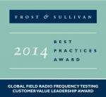 안리쓰가 프로스트 앤 설리번 글로벌 필드 RF 테스트 리더십 어워드를 수상했다.
