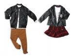 게스 키즈가 스타일리시한 라이더 재킷을 제안한다.