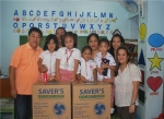 월드쉐어가 필리핀 빈민촌에 선풍기 120대를 지원한다.