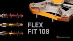세계 최초로 개발된 유동성 페달 FLEX FIT 108