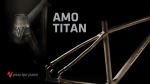 용접을 하지 않은 티타늄 프레임 AMO TITAN