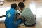 한국보건복지인력개발원 대구사회복무교육센터 재능봉사동아리 행복한 동행은 대구 남구의 한 아동복지시설 찾아 보호아동 꿈찾기 프로그램을 진행했다.