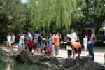 광주사회복무교육센터 사회복무요원이 공부방이 없는 청소년들과 함께 온천나들이를 다녀왔다.