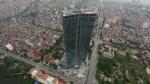 롯데건설이 현지시간 2일 베트남 수도 하노이에서 65층 규모의 초대형 건축물인 롯데센터 하노이를 건립했다.