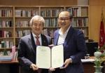 한국예술종합학교와 디큐브아트센터를 운영하고 있는 대성아트센터가 3일 한국예술종합학교 총장실에서 업무협약를 체결했다