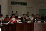 서은석 일산소방서장이 워크숍에 참석한 14개 긴급구조 지원 기관장들에게 개최 취지를 설명하고 있다.