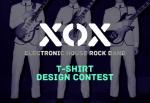 크라우드소싱 플랫폼 디자인레이스가 하우스락 밴드 XOX를 지원하는 'XOX 티셔츠 디자인 공모전'을 9월 15일부터 10월 15일까지 한 달간 개최한다.