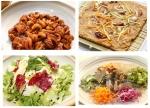 쭈꾸미세트 - 쭈꾸미볶음, 도토리전, 야채샐러드, 도토리묵사발