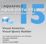 아쿠아폴드, 새로운 시각적 분석툴과 시각적 질의 작성 툴을 추가한 아쿠아 데이터 스튜디오 15 출시
