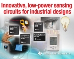 TI, 산업용 설계 문제를 해결해 줄 수 있는 새로운 감지 회로 4종 출시