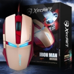 로이체는 게이밍 마우스 XECRET XG-8500M Iron man armor를 출시했다.
