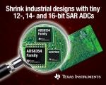 TI는 시스템 설계자가 산업용 모니터링 및 제어 애플리케이션의 크기를 줄일 수 있도록 하는 SAR아날로그 디지털 컨버터(ADC)를 출시했다.