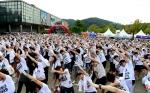 21일 과천 서울대공원에서 열린 러닝 페스티벌 싱글런에 매력적인 싱글 남녀 5천 여명이 몰려 성공적으로 막을 내렸다.