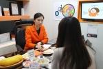365mc 식이영양상담센터 상담 모습이다.
