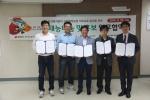 한국보건복지인력개발원 광주사회복무교육센터에서는 보건복지분야 사회복무요원 직무교육 발전을 위한 업무협약을 체결하였다.