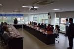 한국폴리텍대학 섬유패션캠퍼스에 7개국에서 온 KOICA 여성인적자원개발 연수단이 방문했다.