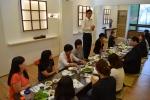 한국폴리텍대학 섬유패션캠퍼스 경력단절여성 샵매니징과정 수료생 간담회를 실시했다.