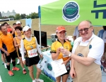 비프앤램 뉴질랜드가 9월 28일(일) 가평종합운동장에서 열린 가평 자라섬 마라톤 대회에서 마라톤 대회 참가자 3,000여명에게 뉴질랜드 자연이 키운 소고기의 시식행사를 진행하고 있다.