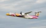 봄바디어 상용항공기 사업부와 녹에어가 봄바디어 격납고에서 녹에어가 발주한 두 번째 Q400 NextGen 터보프롭을 공개했다.