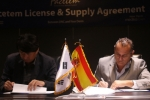 디엔컴퍼니는 스페인 뉴덤과 3년 간 약 50억 원 규모의 페이스템 필러를수출 계약했다.