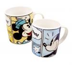 미키&미니마우스를 카툰 형식으로 디자인한 릴팡의 미키 카툰 머그