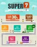 천삼백케이가 10월 20일까지 슈퍼세븐 행사를 진행한다.