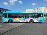 한글 디자이너 이건만은 문화체육관광부 한국문화정보센터와 한글날을 기념하여 한글과 전통문양DB를 활용한 한글날, 버스타요 캠페인 디자인을 맡았다
