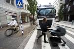볼보트럭에서 차량의 사각지대 제로화를 위한 신기술을 발표했다.