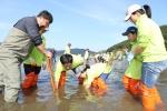 대우조선해양 임직원 및 가족 300 여명이 동참한 가운데 우리 바다에 생명을 심어요라는 슬로건을 걸고 제1회 DSME 바다식목일 행사를 개최했다.