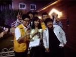 아름다운학교 학생들과 바이올리니스트 박정은 씨