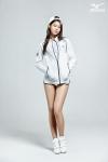 한국미즈노가 2014 F/W 신상품 스노우 기어 라인을 출시하고 전속모델 AOA 설현이 스노우 기어를 착용하고 촬영한 화보를 공개했다.