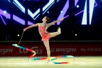LG전자가 일산 킨텍스 제2전시장에서 인천 아시안게임 개인종합 금메달리스트 손연재 선수 주연의 리듬체조 갈라쇼 LG휘센 리드믹 올스타즈 2014(LG WHISEN RHYTHMIC ALL STARS 2014) 행사를 개최했습니다.