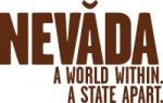 네바다 주 관광청 로고