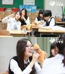 분당 내정중학교 학생들이 해외 아동들을 위한 옥수수 양말인형 코니돌 만들기에 동참했다.