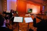 삼성전자는 10월 21일(현지 시간) 러시아 모스크바 볼쇼이 메인 극장 베토벤홀에서 열린 톨스토이 문학상시상식에서 105형 커브드 UHD TV를 전시하고 역대 수상 장면을 생생한 UHD 화질로 전달했다.