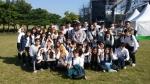 머라이어 캐리 현장실습 단체 사진 (사진제공: 한국방송예술교육진흥원)