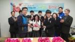 화성 정남중학교는 전교생이 굿프랜드지역아동센터에서 주최하는 희망나눔 캠페인에 참여하였다.