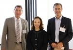 왼쪽부터 학술대회 조직위원장 하인츠 로러 교수, 김세현 원장, 루드거 게데스마이어 교수