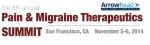 통증 및 편두통 치료 서밋이 2014년 11월 5일부터 6일까지 미국 샌프란시스코에서 개최된다.