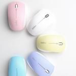 로이체가 다섯가지 파스텔컬러의 타이니 무선 옵티컬 마우스 RAPOO 3360을 국내에 출시하였다.