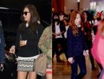 소녀시대의 니트 공항패션이 온라인 상 화제가 되고 있다.