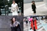 톱 모델들의 2015 S/S 서울-파리 패션위크 겨울 아우터 스타일링이 눈길을 끌고 있다.
