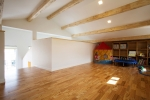 3040세대의 자녀를 위해 천장 면을 활용해 만든 다락방.