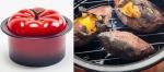 군구마, 군밤 등을 태우지 않도록 스팀 방식을 채택한 토마토스팀직화냄비