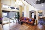 일반 주택 대비 약 70% 이상의 열 효율성이 높은 운학 앤그로브 내부 모습.