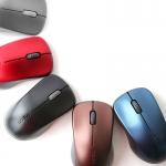 로이체가 다섯 가지 색상의 2.4GHz 무선 옵티컬 마우스 RAPOO 1620을 국내에 출시하였다.
